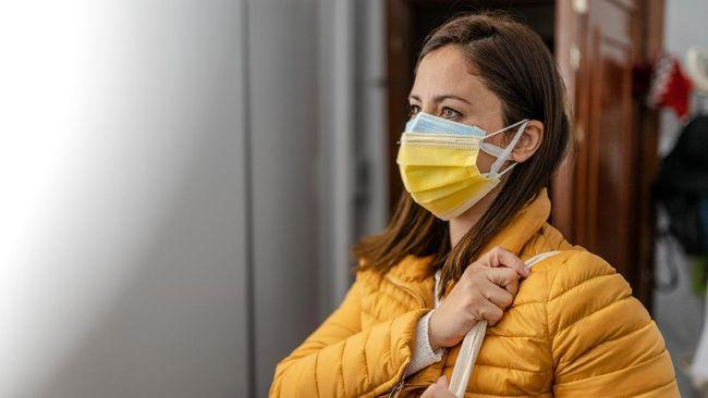 Masker dobel sangat disarankan saat ini, tapi bagaimana dengan penggunaan masker medis ganda?