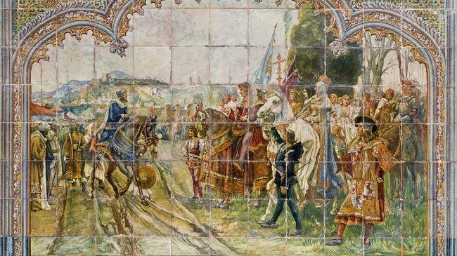 Kekuasaan Islam di Andalusia (Spanyol) yang mulanya kuat dan gemilang akhirnya terjerumus ke dalam perpecahan.
