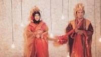 <p>Inka Christie menikah dengan Sandiego Africo di Grand Ballroom La Gardena Kopo Square, Bandung, Jawa Barat, pada 27 April 2019. Acara digelar secara tertutup dan hanya dihadiri oleh kerabat dekat (Foto: Instagram @inka_christie99).</p>