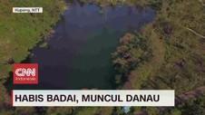 VIDEO: Habis Badai, Muncul Danau