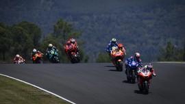 Senggol Mir, Marquez Nyaris Kecelakaan di MotoGP Portugal