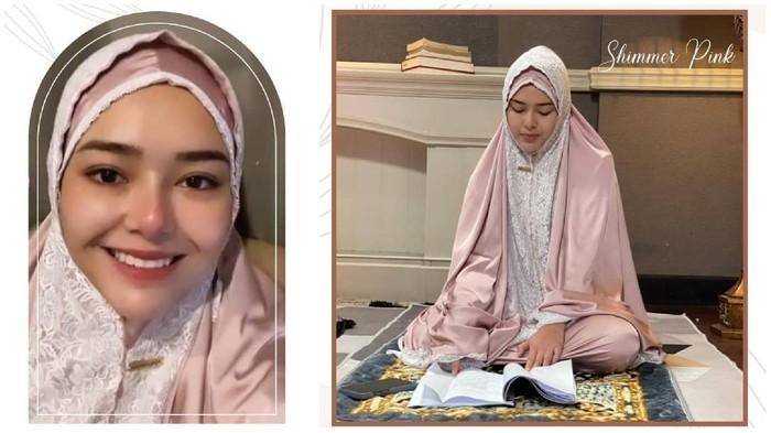 Selain Syahrini, Deretan Artis Ini Jual Mukena Cantik di Bulan Ramadan