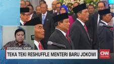 VIDEO: Teka-Teki Resuffle Menteri Baru Jokowi