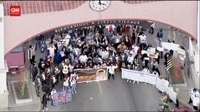 VIDEO: Aksi Mengenang Bocah 13 Tahun Yang Ditembak Polisi
