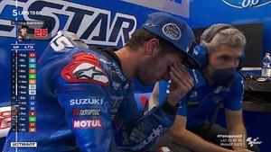 VIDEO: Detik-detik Alex Rins Jatuh di MotoGP Portugal