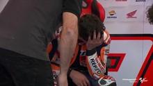 VIDEO: Momen Marquez Menangis Usai MotoGP Portugal