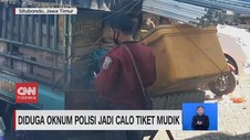 VIDEO: Diduga Oknum Polisi Jadi Calo Tiket Mudik