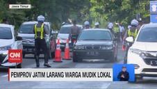 VIDEO: Pemprov Jatim Larang Warga Mudik Lokal