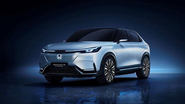 Honda akan meluncurkan 10 mobil listrik untuk pasar China, salah satunya dicurigai HR-V versi listrik.