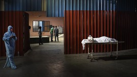 FOTO: India Keteteran Hadapi Lonjakan Kasus Covid-19