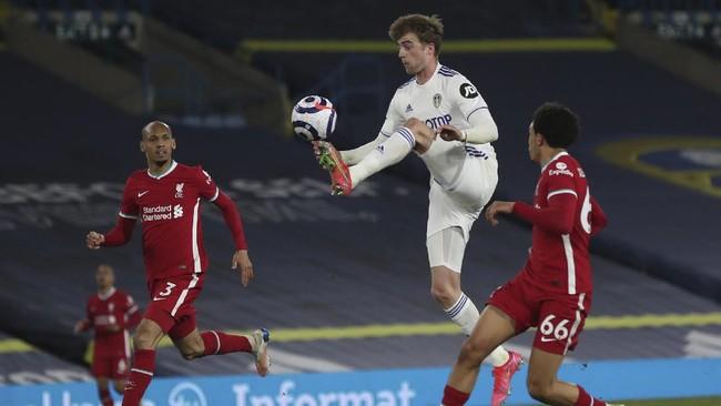 Liverpool harus puas hanya bisa bermain imbang 1-1 melawan Leeds United dalam laga lanjutan Liga Inggris di Elland Road, Selasa (20/4) dini hari WIB.