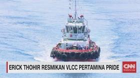 VIDEO: Melihat Lebih Dekat Kapal VLCC Pertamina Pride