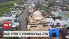 VIDEO: Masjid Berarsitektur Menyerupai 'Hagia Sophia'