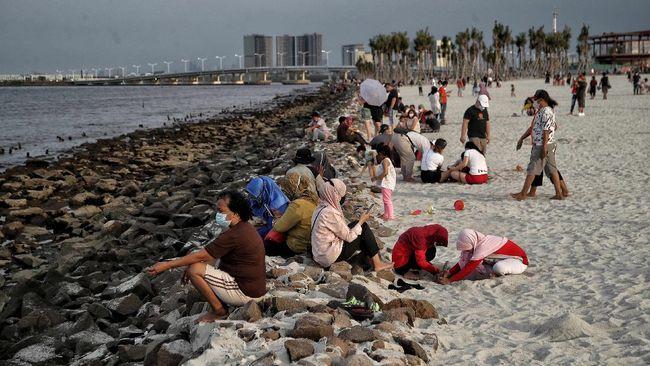 Selain Ancol, warga Jakarta dan sekitarnya kini juga bisa melepas rindu dengan kawasan pesisir di Pantai PIK 2.