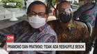 VIDEO: Pramono dan Pratikno: Tidak Ada Reshuffle Besok
