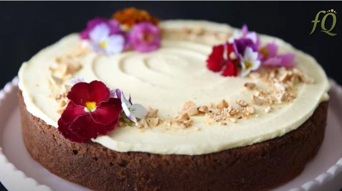 Resep Carrot Cake Gluten Free ala Farah Quinn, Sajian Sehat Lebaran