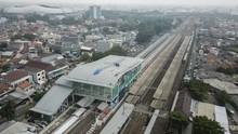 FOTO: Revitalisasi Stasiun Bekasi Selesai Akhir 2021