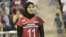 Shinta Ainni, Pembuka Jalan Atlet Hijab di Liga Voli