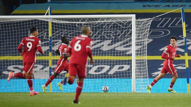 Leeds United seri dengan Liverpool dalam pertandingan pekan ke-32 Liga Inggris yang berlangsung di Stadion Elland Road, Selasa (20/4) dini hari waktu Indonesia.