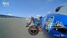 VIDEO: 9 Kecelakaan di MotoGP Portugal