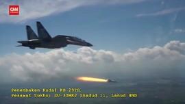 VIDEO: Uji Tembak Rudal Jarak Jauh TNI AU