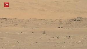 VIDEO: Detik-detik Drone NASA Berhasil Terbang di Mars