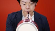 FOTO: Tren Rias Wajah Pria Jepang