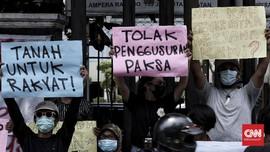 FOTO: Aksi Forum Pancoran Buntu di PN Jaksel