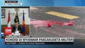 VIDEO: Kondisi di Myanmar Pascakudeta Militer