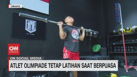 VIDEO: Atlet Olimpiade Tetap Latihan Saat Puasa