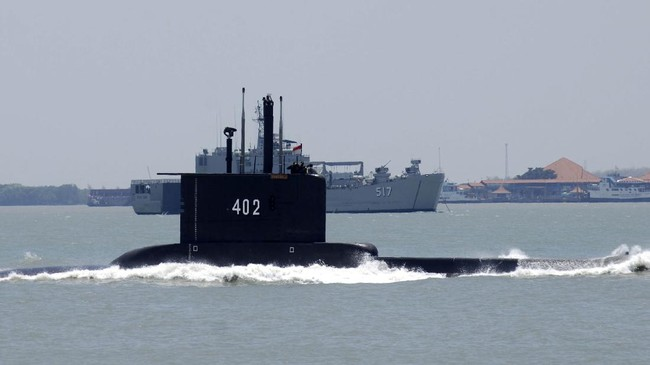 Detik-detik Kapal Selam KRI Nanggala-402 Hilang Kontak