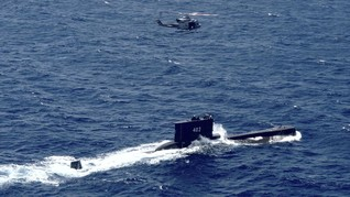 TNI Temukan Tumpahan Minyak Kapal Selam KRI Nanggala
