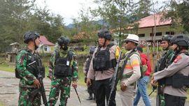 Polisi Bantah Warga Ilaga Papua Mengungsi: Situasi Kondusif