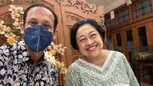 Nadiem soal Bertemu Megawati: Minta Masukan dan Pengalaman