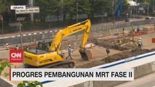 VIDEO: Pengerjaan MRT CP201 Telah Capai 12,8%