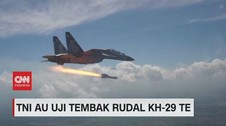 VIDEO: TNI AU Uji Tembak Rudal KH-29 TE
