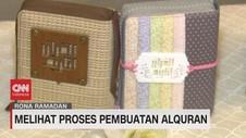 VIDEO: Melihat Proses Pembuatan Al-Qur'an