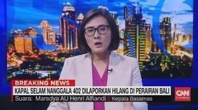 VIDEO: Penjelasan Basarnas Soal Kapal Selam TNI AL Hilang