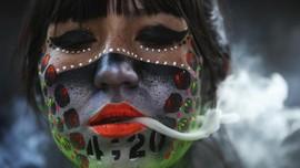 FOTO: Pesta 420, Peringatan Hari Ganja Sedunia