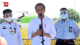 VIDEO: Jokowi: Jika Produksi Beras Lancar, Tak Ada Impor