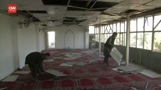 VIDEO: Bom Bunuh Diri di Afghanistan Incar Konvoi MIliter