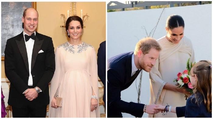 Adu Gaya Kate Middleton dan Meghan Markle, Mana Favoritmu?