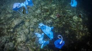 FOTO: Sampah Masa Pandemi Mengancam Bumi