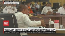 VIDEO: Wali Kota Medan Ditegur Gubernur Sumatera Utara