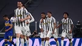 Hasil Liga Italia: Juventus Menang, Inter Seri