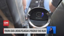 VIDEO: Usir Virus, Taksi Online Dilengkapi Air Purifier