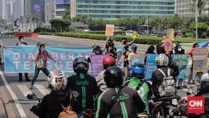 FOTO: Joget Jagat di Jakarta untuk Hari Bumi