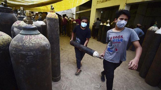 Darurat oksigen di India sampai bantuan negara sahabat untuk pencarian KRI Nanggala-402.
