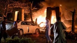 FOTO: Horor Teror Bom Mobil di Hotel Mewah Pakistan