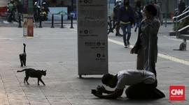 FOTO: Gelagat Ibu Kota Menanti Berbuka Puasa